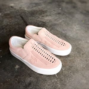Marc Fisher • Blush Slip on Sneakers